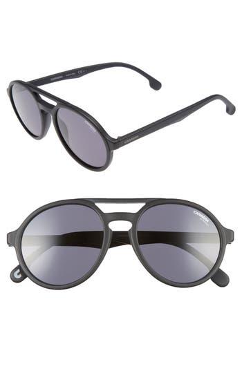 Carrera Eyewear Pace 5m Sunglasses - Matte Black/ Grey Blue