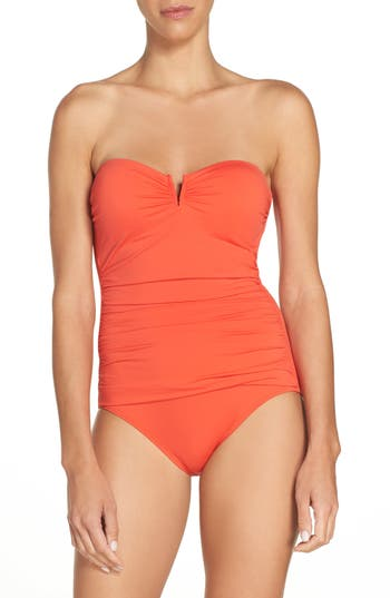 Women's Tommy Bahama 'Pearl' Convertible One-Piece Swimsuit