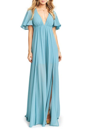 Show Me Your Mumu Faye Chiffon Gown