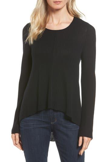 Eileen Fisher Merino Wool Pullover, Black