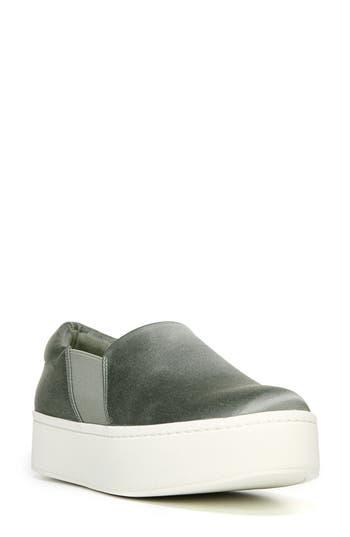 Women's Vince Warren Slip-On Sneaker, Size 7 M - Green