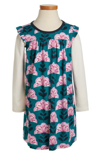 Girl's Tea Collection Floral - Double Decker Dress