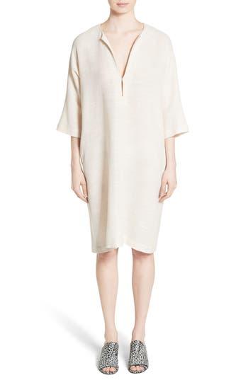 Zero + Maria Cornejo Mc Mesh Drape Dress, White