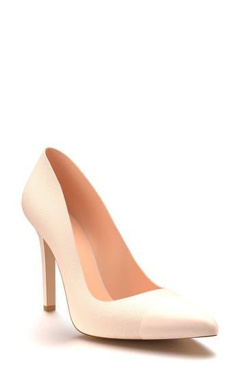 Shoes Of Prey Cap Toe Pump, Pink