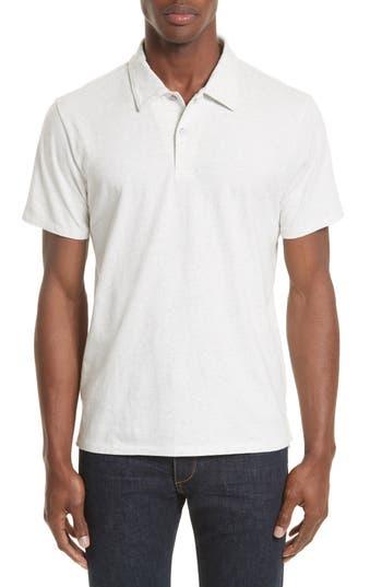 Men's Rag & Bone Heathered Jersey Polo
