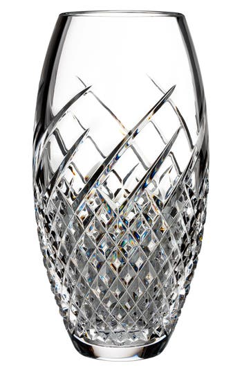 Waterford Wild Atlantic Way Lead Crystal Vase, Size One Size - White