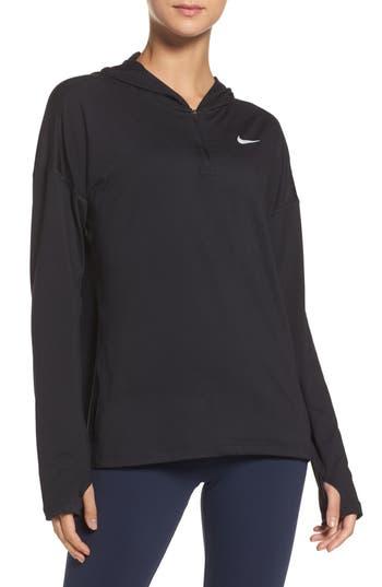 Nike Dry Element Running Hoodie, Black