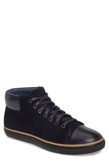 English Laundry Kensal Mid Top Sneaker- Blue