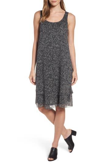 Eileen Fisher Silk Tank Dress, Black