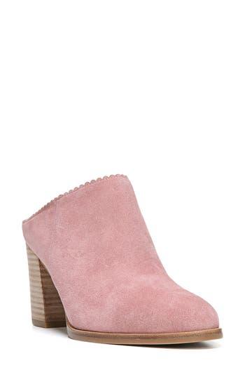 Women's Via Spiga Sophia Block Heel Mule, Size 4 M - Pink
