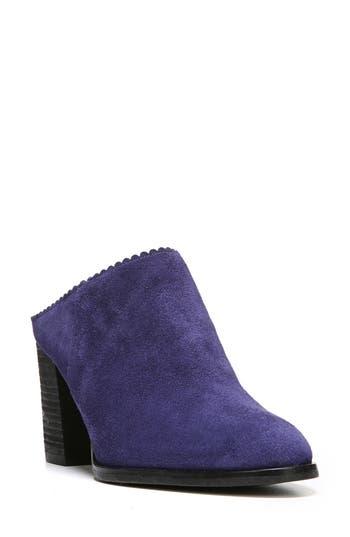 Women's Via Spiga Sophia Block Heel Mule, Size 4 M - Blue