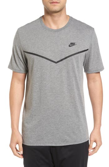 Nike Nsw Tb Tech T-Shirt, Grey