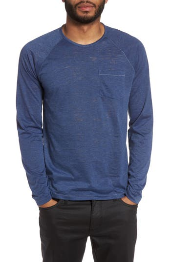John Varvatos Star Usa Raglan Sleeve T-Shirt, Blue