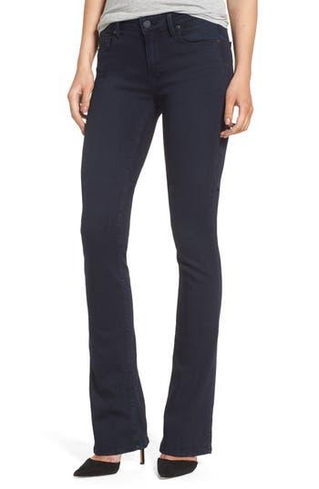 Petite Paige Manhattan High Waist Bootcut Jeans, Blue