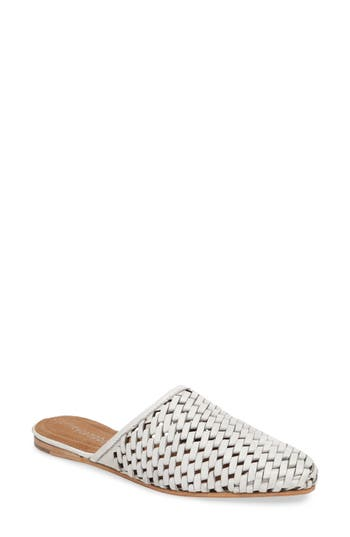 Jeffrey Campbell Doshi Woven Mule, White