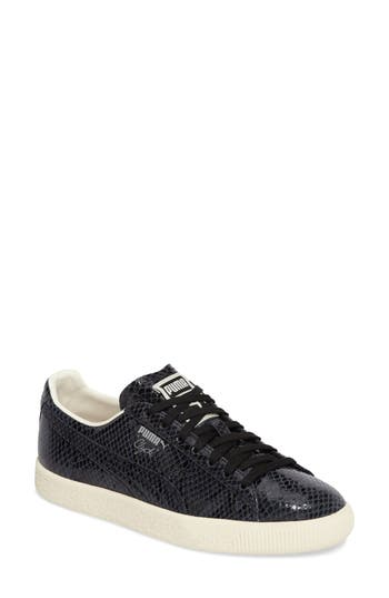 Puma Clyde Sneaker, Black
