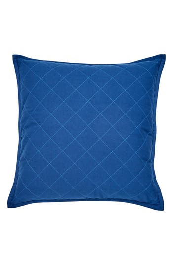 Southern Tide Yacht Club Quilted Accent Pillow, Size One Size - Blue