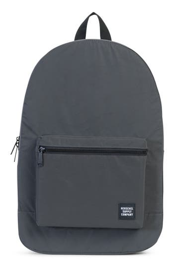 Herschell Supply Co. Packable Reflective Backpack - Black