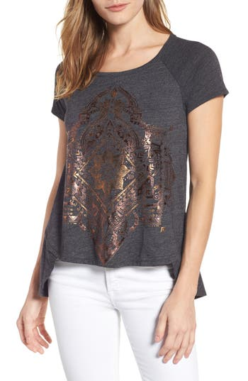 Lucky Brand Egyptian Mono Top, Black