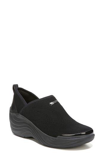 Bzees Zsa Zsa Wedge Sneaker- Black