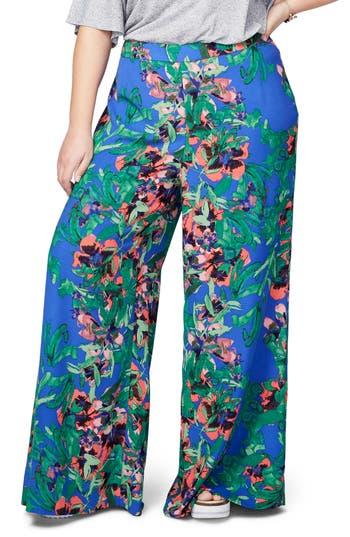 Plus Size Women's Rachel Rachel Roy Print Palazzo Pants
