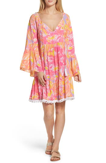 Women's Lilly Pulitzer Amisa Tunic Dress, Size X-Large - Purple