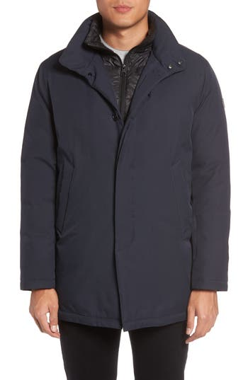Tumi Commuter Down Jacket, Blue