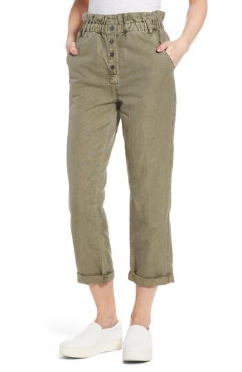Women's Current/elliott Paperbag Fling High Waist Ankle Pants