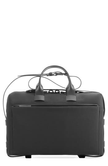 Men's Troubadour Nylon Briefcase - Black