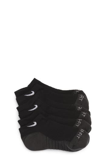 Nike 3Pack Cushioned DriFit NoShow Socks