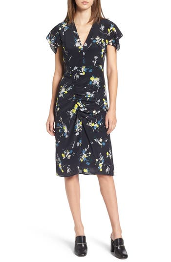 Women's Lewit Print Silk Dress