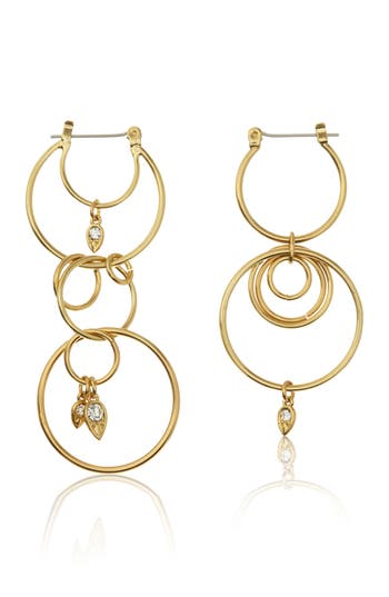 Women's Luv Aj Eclipse Hoop Earrings