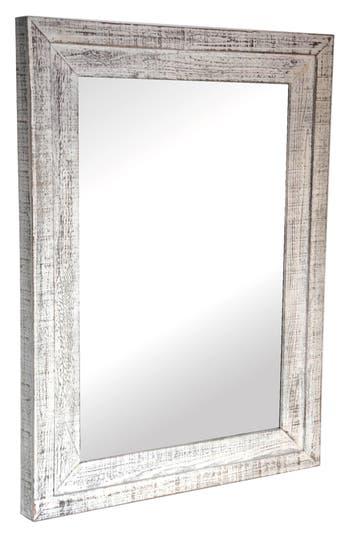 Crystal Art Gallery Farmhouse Wall Mirror, Size One Size - Grey