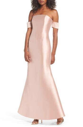 Sachin & Babi Noir Victoria Mermaid Gown, Pink