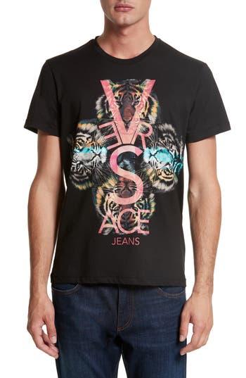 Versace Jeans Graphic T-Shirt, Black