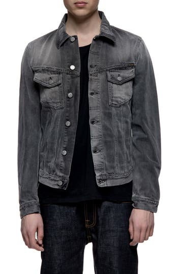 Nudie Jeans Billy Denim Jacket, Grey