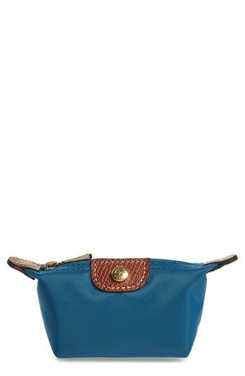 Women's Longchamp 'Le Pliage' Coin Purse - Blue