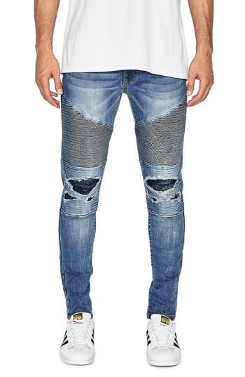 NXP Combination Moto Skinny Moto Jeans