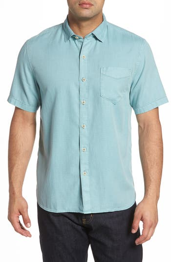 Men's Tommy Bahama Dobby Dylan Sport Shirt