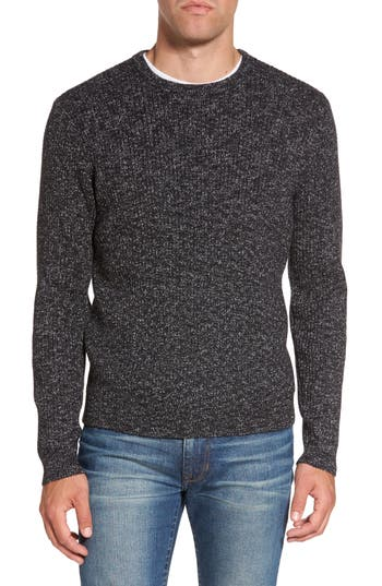 Nordstrom Shop Donegal Space Dye Nep Sweater, Grey