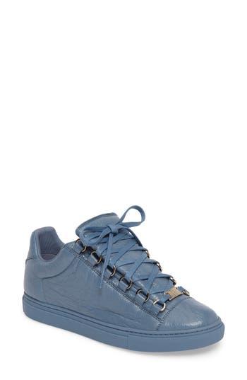 Balenciaga Low Top Sneaker, Blue