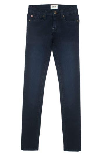 Girl's Hudson Kids Collin Flap Pocket Skinny Jeans