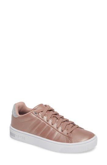 K-Swiss Frasco Court Sneaker- Metallic