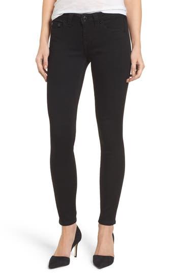 True Religion Brand Jeans Halle Super Skinny Jeans, 3 - Black