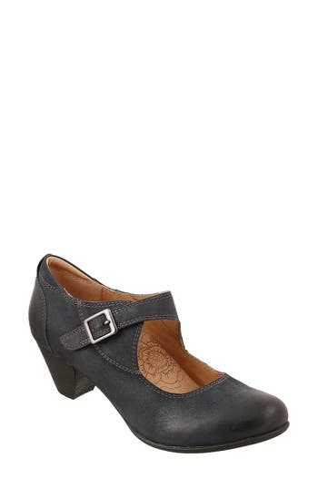 Taos Studio Mary Jane Pump, Blue