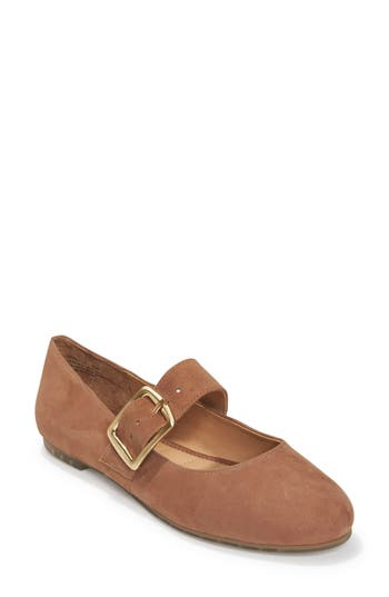 Me Too Crissy Mary Jane Flat, Brown