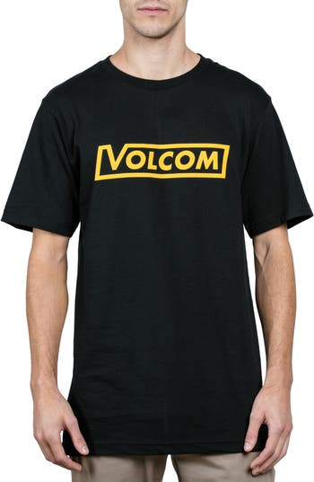 Volcom Logo T-Shirt, Black