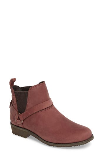 Teva Dina La Vina Dos Waterproof Chelsea Boot- Red