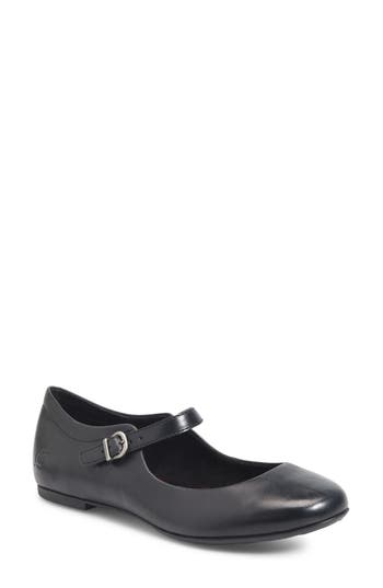 B?rn Arnor Mary Jane Flat- Black