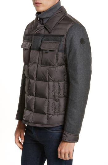Moncler Blais Down Jacket, Black